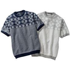 綿100%ウォッシャブルニットTシャツ