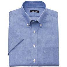 綿麻ノーアイロンYシャツ(半袖) クールビズにも対応 メンズビジネス