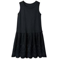 【ぽっちゃりさんサイズ】裾デザインタンクトップチュニック