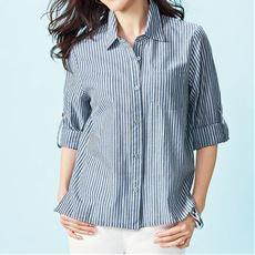 レギュラーシャツ(長袖)(綿100%)