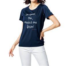半袖Tシャツ(ELLE SPORT)(吸汗速乾・UVカット)