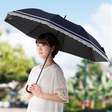 ショートワイドレース傘(親骨伸縮式)