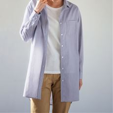 UVケアロングシャツ(S~3L・洗濯機OK)