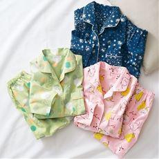 冷房対策にも活躍するシャツパジャマ