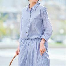 【ぽっちゃりさんサイズ】UVカットロングシャツ(抗菌防臭)