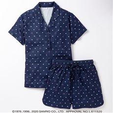 【ネット限定】ハローキティ、ポムポムプリン 半袖パジャマ