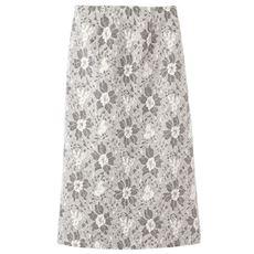 ボンディングレーススカート(選べる2レングス)