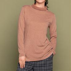 タートルネックTシャツ(吸湿発熱・消臭)(日本製)