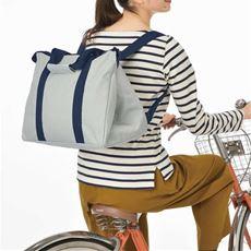 お買い物もラクラク3wayバッグ(トート・リュック・レジカゴ対応・エコバッグ)
