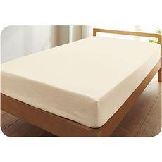 ボックスシーツ・無地(日本製綿100%)