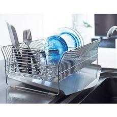 燕三条 水切りラック ハナウタ/縦横自在にお皿が立つ