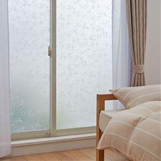 飛散防止効果のある窓飾りシート