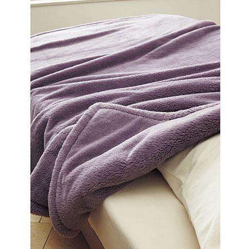 2枚合わせ毛布(ふわふわマイクロ)