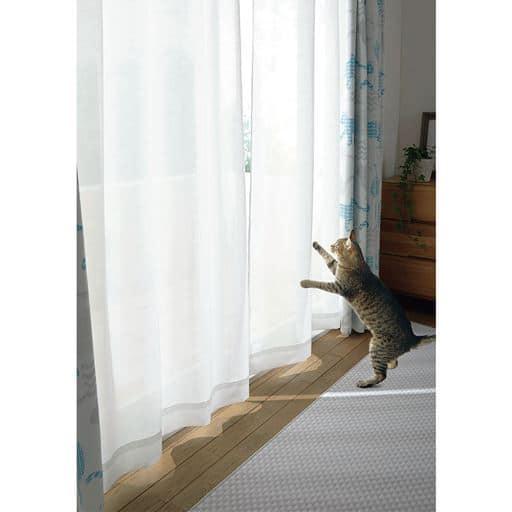 ボイルカーテン(UVカット・ペットの引っかき対策・遮熱保温)