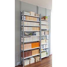壁面突っ張り書棚ラック