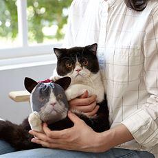 猫も喜ぶ自分で作るオリジナルアニマル巾着キット