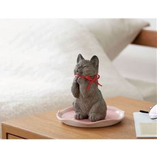 猫の素焼き加湿器