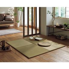 い草ユニット畳(ひば加工 和室 コンパクト オールシーズン 程よいクッション性 抗菌)