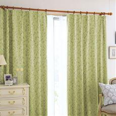 1級遮光裏地付きジャカード織りカーテン
