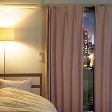 〔形状記憶付き〕遮音遮熱保温安眠1級遮光カーテン