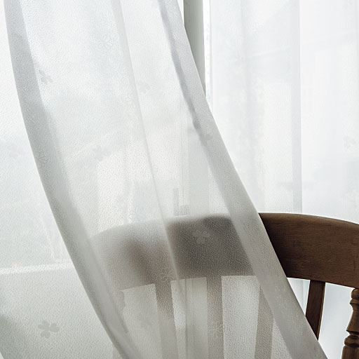 UVカット遮熱ミラーレースカーテン