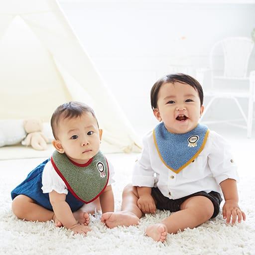 【今治産】ベビーロゼット スタイ