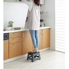 キッチンステップ(折りたたみ式)