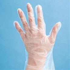 伸びてフィットする手袋