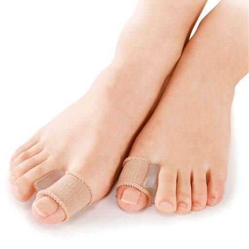やわらゲル外反母趾足指サック(4個)