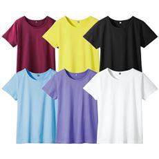 インド綿半袖Tシャツレディース