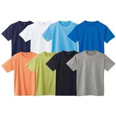 インド綿半袖Tシャツ(男女兼用)