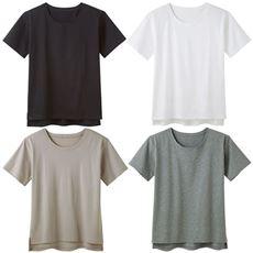 綿100%汗ジミ目立ちにくいTシャツ