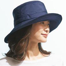 小顔に見えるはっ水遮熱UV帽子<美活計画>