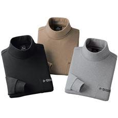 ダンロップ・モータースポーツ暖か起毛タートルネックシャツ(色違い3枚組)