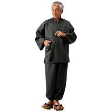 日本製タクティウォーム裏起毛作務衣