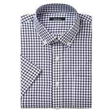 先染めカジュアルシャツ(半袖)