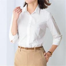 形態安定2枚組レギュラーカラーシャツ(七分袖)(洗濯機OK・S~3L)