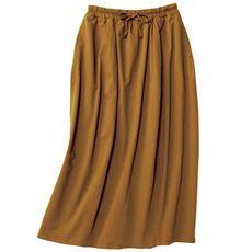 丸みのあるバルーンスカート(綿100%・洗濯機OK)