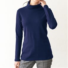 UVカットルーズネックTシャツ(長袖)(2丈展開・綿100%・洗濯機OK)