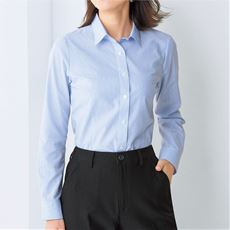 形態安定2枚組レギュラーシャツ(長袖)(洗濯機OK・S~3L)