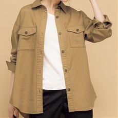 二重織ガーゼシャツ(綿100%・洗濯機OK)