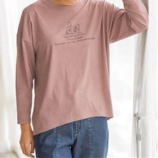 プリントゆるTシャツ(洗濯機OK)
