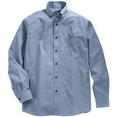 ジャストライトコットン高密度素材シャツ(長袖)