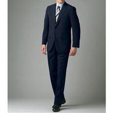 薄手の肩パットやアジャスター調節機能付き・品格漂うメンズビジネススーツ