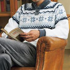 ふわもこノルディック柄パジャマ(男女兼用)