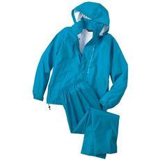 防水・はっ水・透湿機能付き 裏メッシュ仕様の軽量レインスーツ 日本素材ブリザテック使用 DOQMENT7740