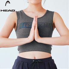 【ぽっちゃりさんサイズ】スポーティブラ(カップ付き)(HEAD)(UVカット・吸汗速乾)