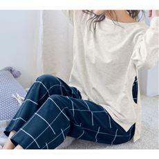 異素材使いのパジャマ