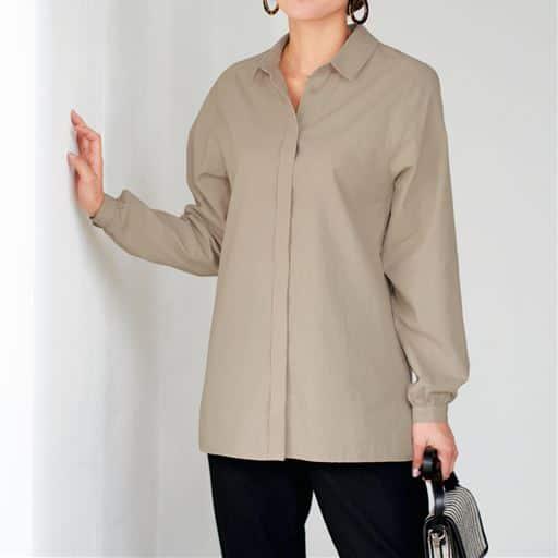 【ぽっちゃりさんサイズ】デザインシャツ(綿100%)