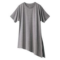 裾リボンTシャツ(BODY GLOVE)(UVカット)
